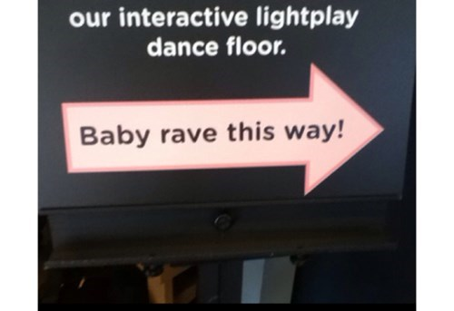 Babies sign parenting rave - 8058903040