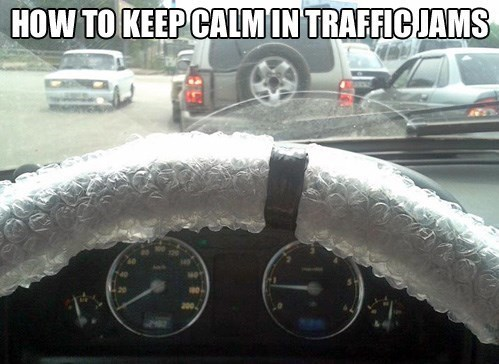 bubble wrap,driving