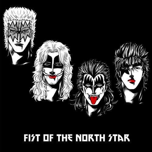 fist of the north star crossover KISS anime Fan Art - 8059479296