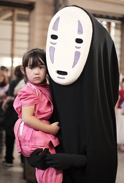 cosplay,kids,spirited away