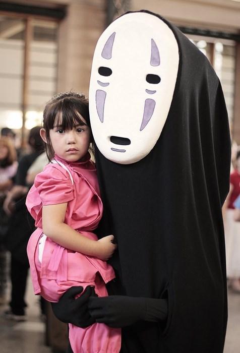cosplay,kids,spirited away