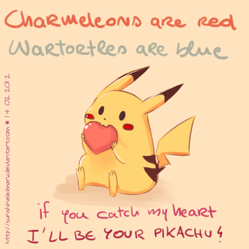 Pokémon pikachu Valentines day - 8060100608