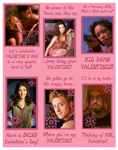 scifi,Firefly,Valentines day