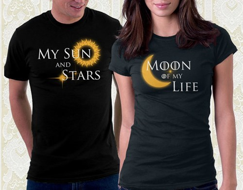 T-shirt - MY SUN MOON AND STARS OF MY LIFE