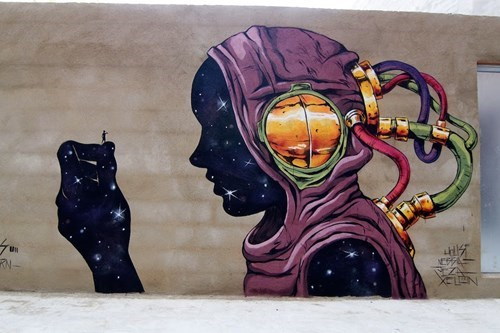 Street Art,graffiti,hacked irl