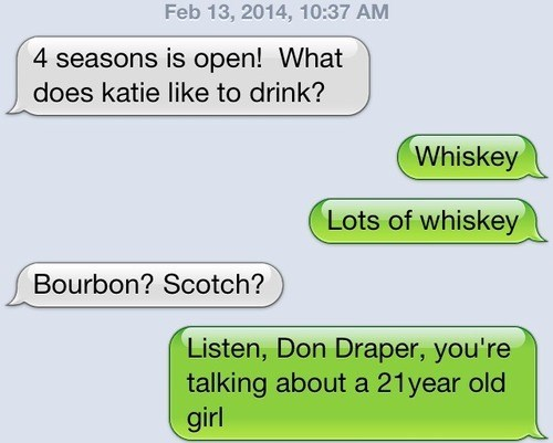 whiskey text young after 12 g rated