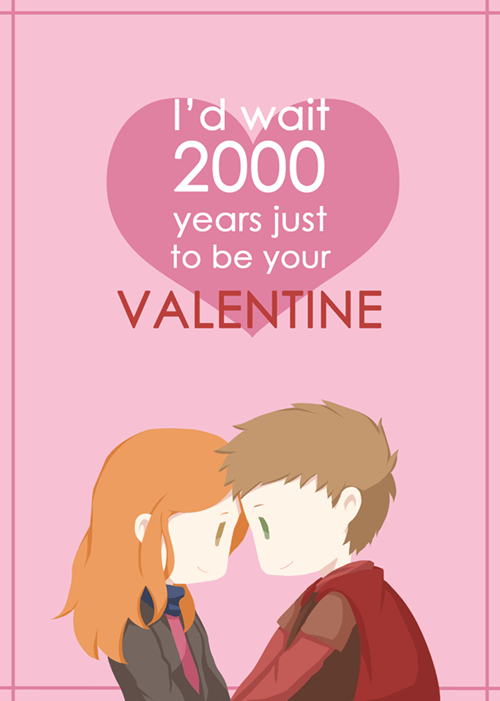 rory williams Fan Art amy pond Valentines day - 8060666624