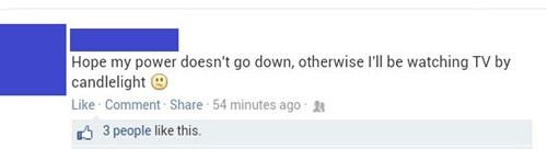 facepalm,TV,power outage,failbook,g rated