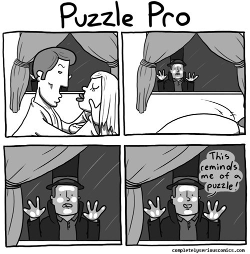 what puzzles have you been solving prof?
