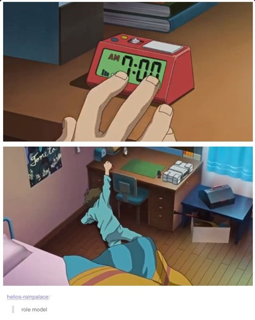anime,alarm clocks