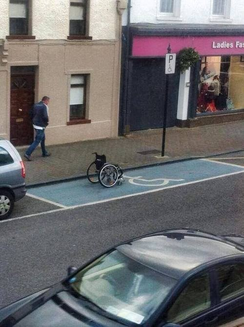 wheelchairs,disabled parking