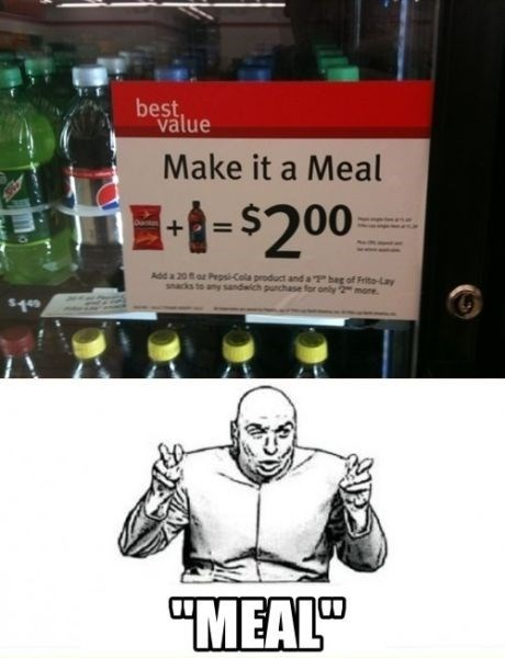 dr evil air quotes meal food - 8062544896