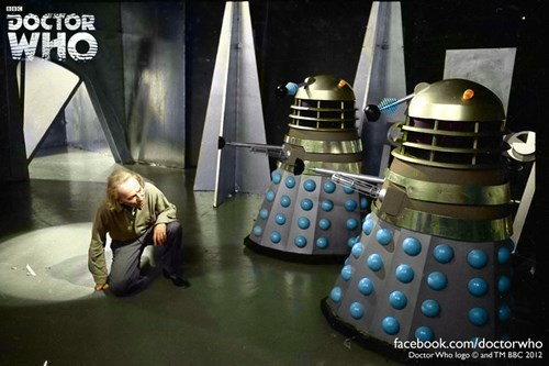 classic who daleks 1st doctor william hartnell - 8062632192