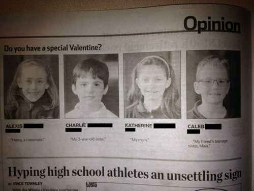 kids,parenting,Valentines day,g rated,School of FAIL