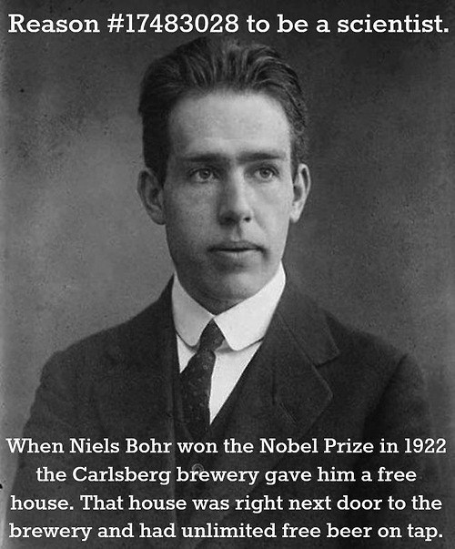 beer scientists science Niels Bohr after 12 g rated - 8062823680