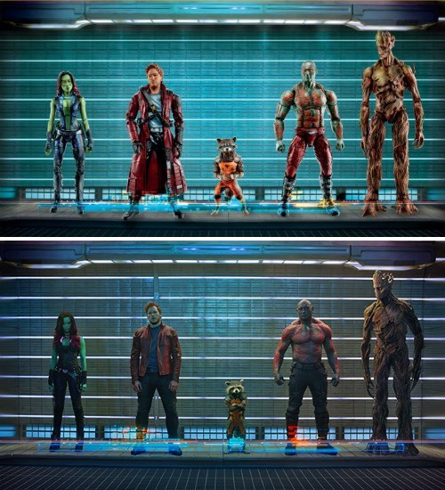 action figures marvel guardians of the galaxy - 8062915840