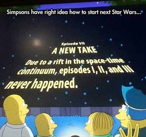 star wars TV the simpsons - 8062930176
