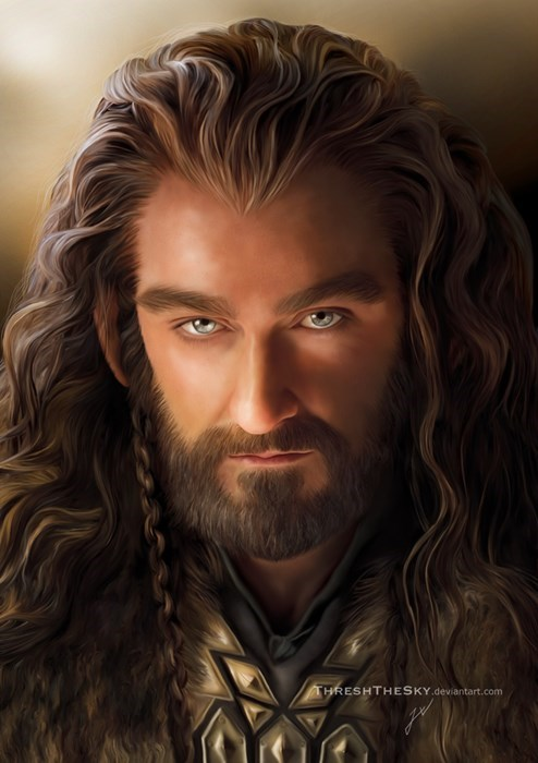 Fan Art The Hobbit thorin oakenshield - 8063071744
