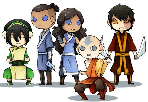 Fan Art Avatar the Last Airbender cute cartoons Avatar - 8063107584