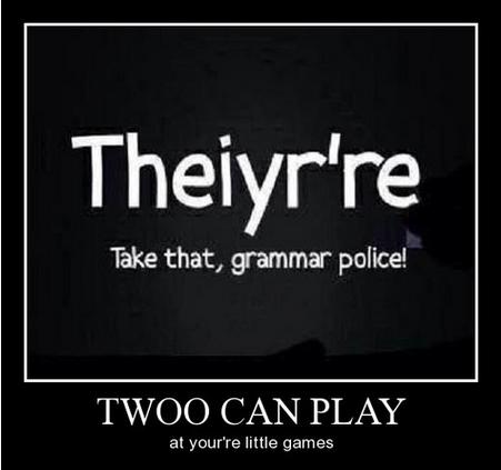 grammar language idiots funny g rated School of FAIL - 8063180032