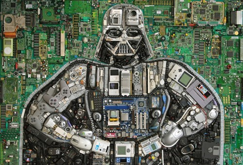 art,design,nerdgasm,recycling,darth vader,g rated,win