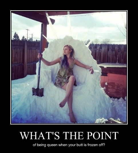 snow throne ice queen funny - 8063295488