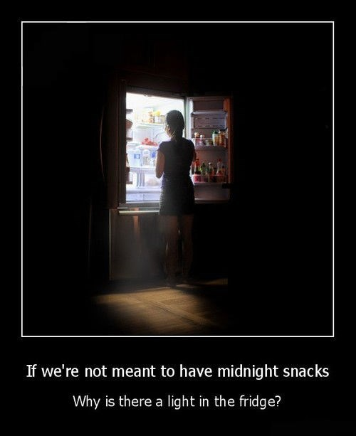 snacks food logic fridge funny - 8063324416