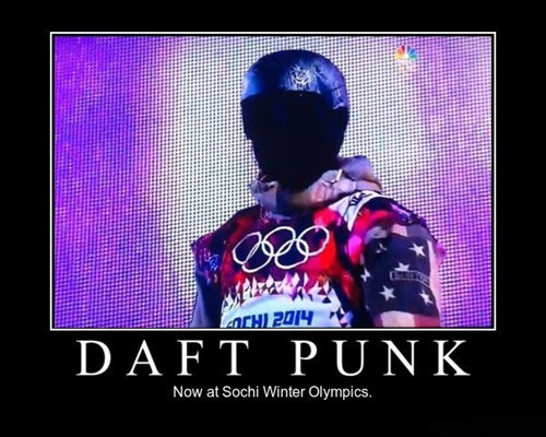 Sochi 2014 robots daft punk funny olympics - 8063363328