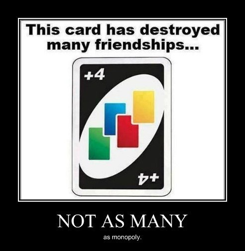 friendship games uno monopoly funny - 8063368448