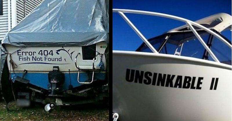 funny boat puns