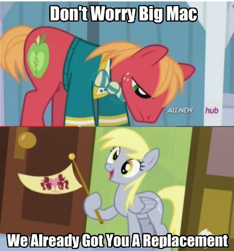 background pony derpy hooves Big Macintosh - 8064684032