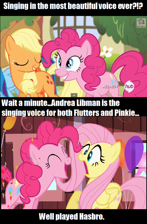 voice acting pinkie pie fluttershy - 8065951744