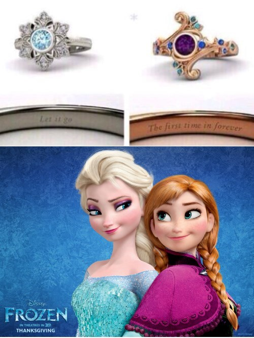 rings let it go frozen - 8066422528