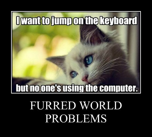 FURRED WORLD PROBLEMS