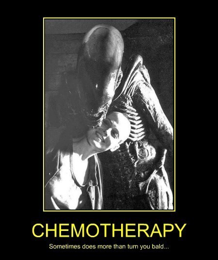 chemotherapy,alien,funny