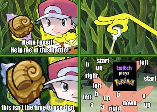 Pokémon SpongeBob SquarePants helix hossil twitch - 8067100160