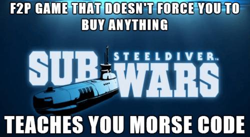 sub wars steel diver morse code nintendo - 8067159552