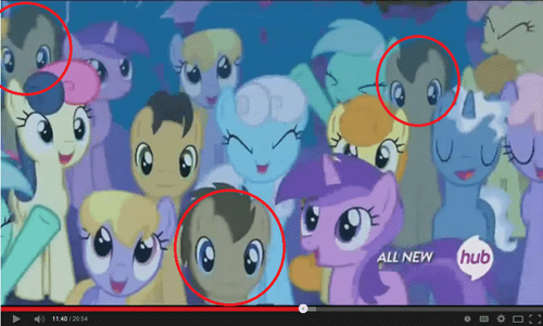background pony,doctor whooves,animation
