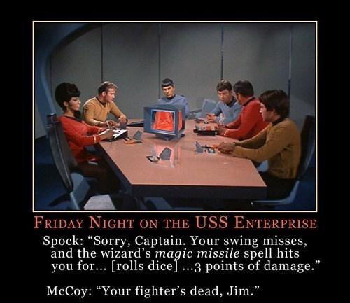 USS Enterprise Captain Kirk McCoy Spock Star Trek funny - 8067595264