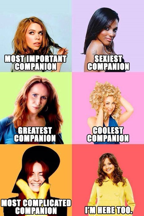 clara oswald,rose tyler,doctor who,amy pond,companion