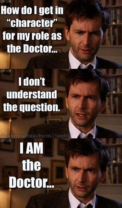 acting David Tennant 10th doctor - 8067790592