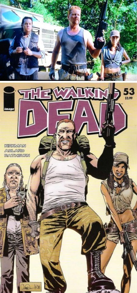 casting comics The Walking Dead - 8067890944