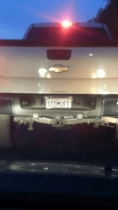 license plates,cars,stud muffin,trucks