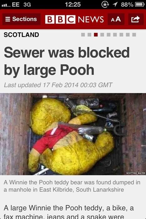 bbc headlines winnie the pooh - 8068598784
