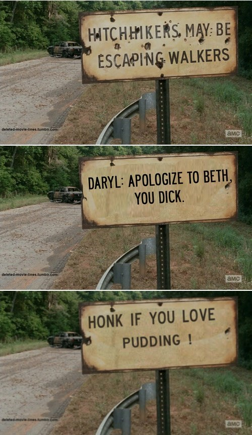 sign photoshop The Walking Dead - 8068758016
