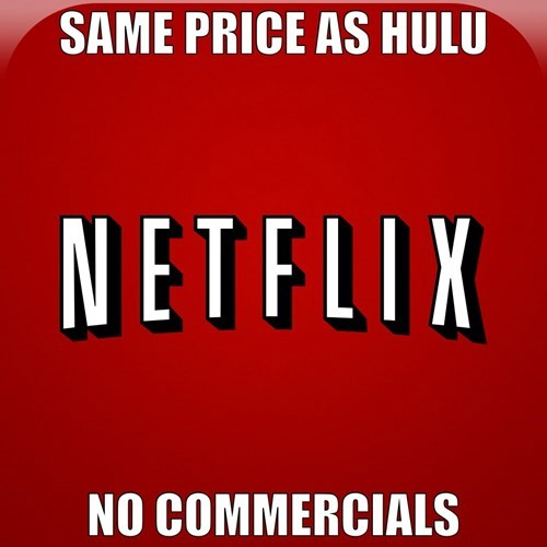 hulu,commercials,netflix