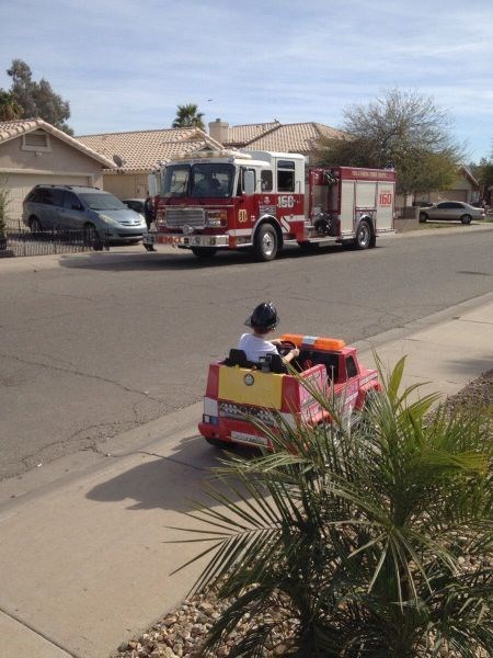 goal,firefighters,kids,parenting,fire truck