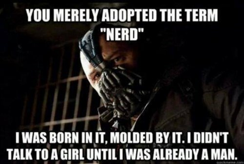 bane dating batman forever alone nerds TDKR the dark knight rises - 8068846080