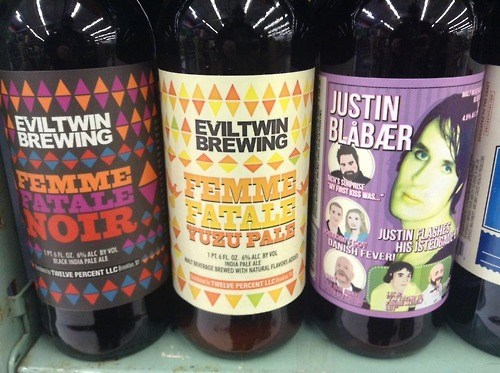 brewery evil twin funny justin bieber - 8068872192