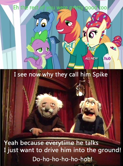 spike,muppets,the worst
